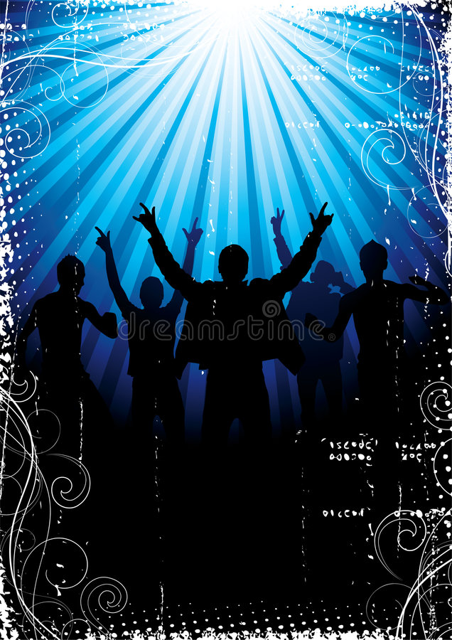 Download Illustration of concert stock vector. Image of decor, people - 8034351