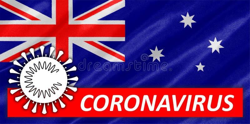 On Australia Flag. Illustration of on Australia Flag stock photos