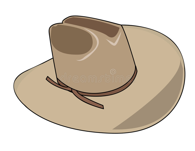 Download Illustration Of A Cowboy Hat Royalty Free Stock Photo - Image: 5795465