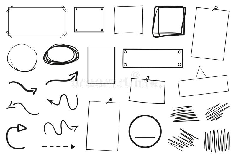 Illustration Création d'art illustration stock