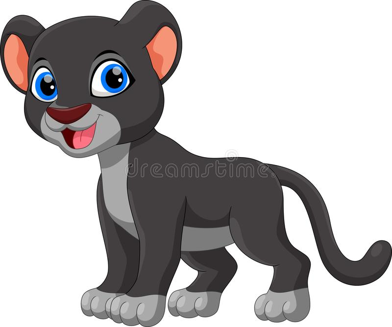 Cute panther clipart