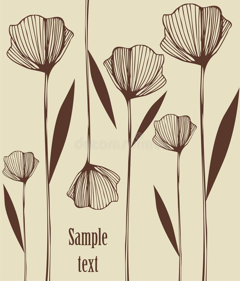 Illustration décorative photo libre de droits