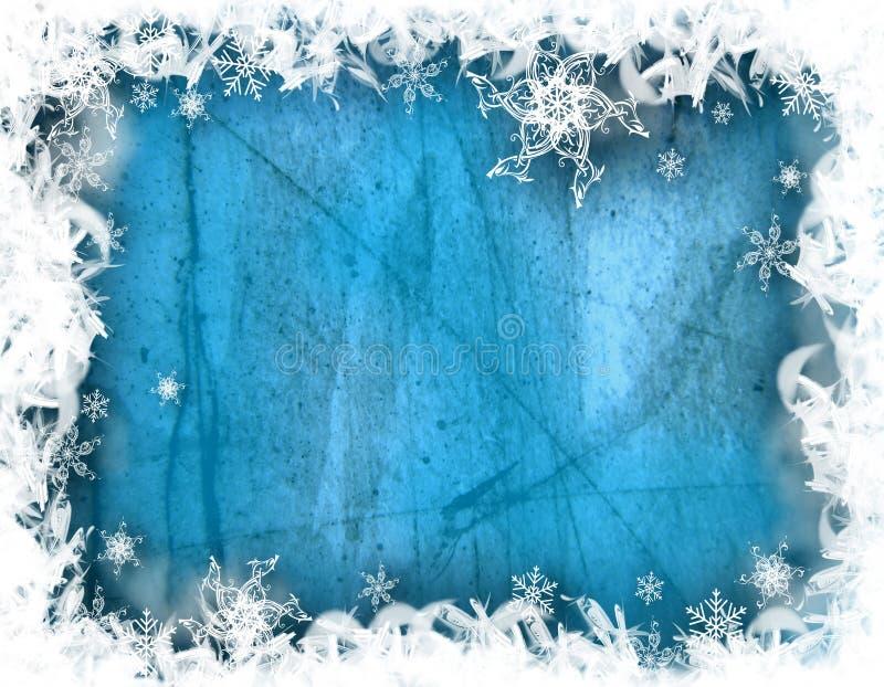 Illustration décorative de l'hiver illustration de vecteur