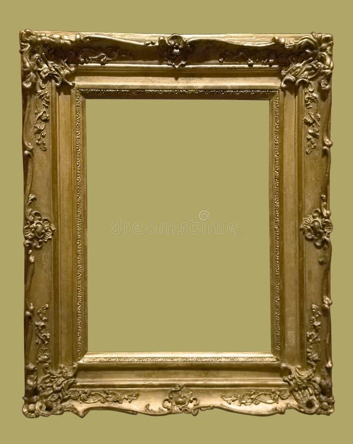 illustration d'or âgée de photo de trame image stock