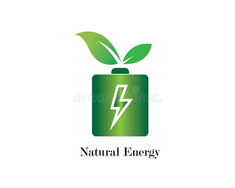 illustration d'énergie de puissance illustration de vecteur