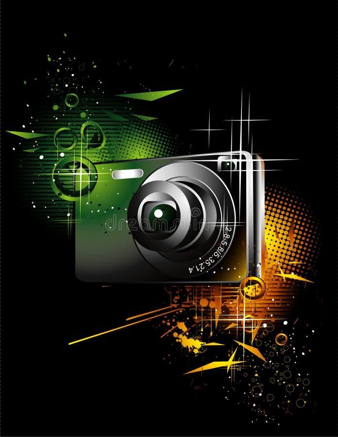 Illustration d'appareil-photo illustration libre de droits
