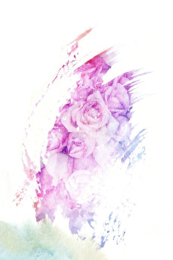 Download Illustration D'aquarelle De Fleur Illustration Stock - Illustration du closeup, temps: 56476444