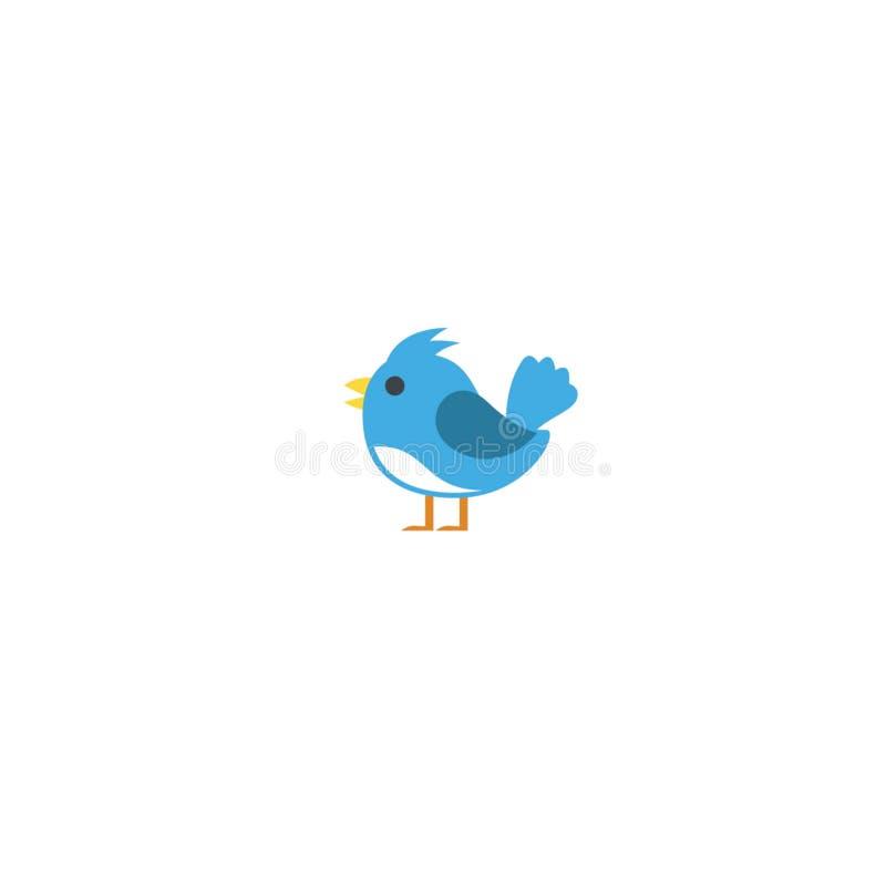 Illustration d'art d'oiseau illustration de vecteur
