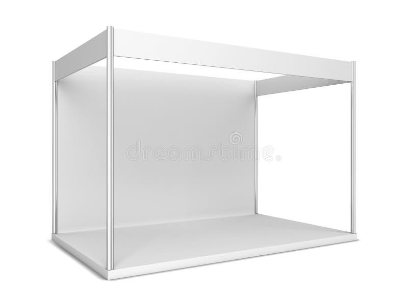 Illustration 3d auf weißem Hintergrund lizenzfreie abbildung