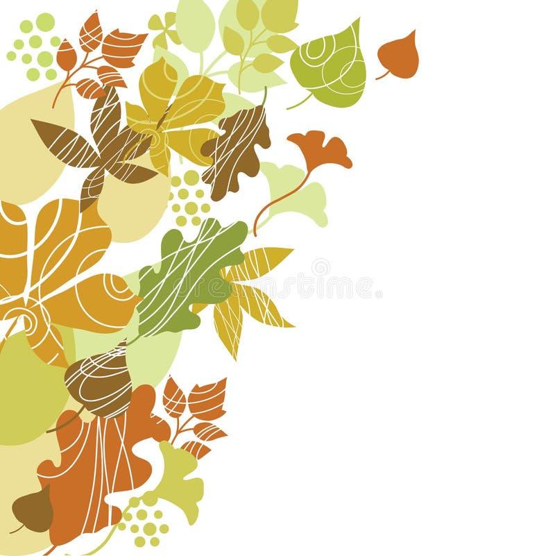 Illustration d'automne illustration de vecteur