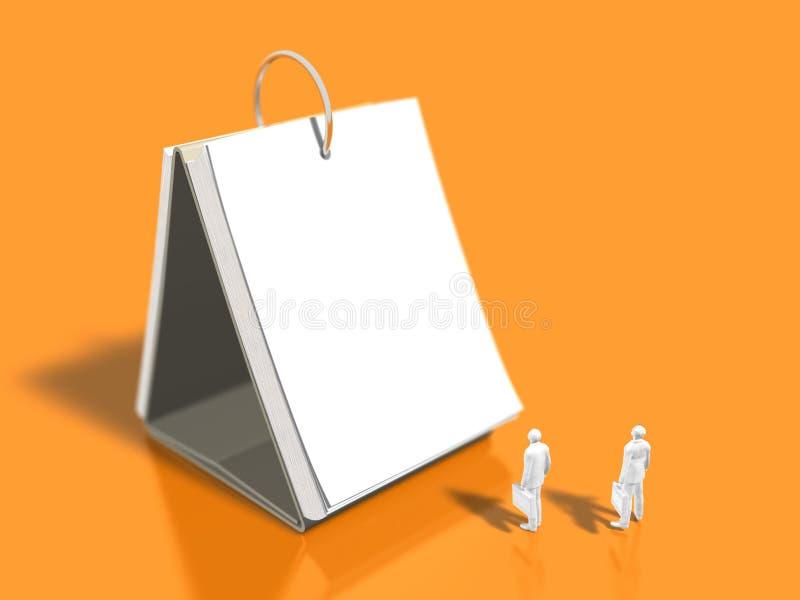 illustration 3D de programme illustration de vecteur