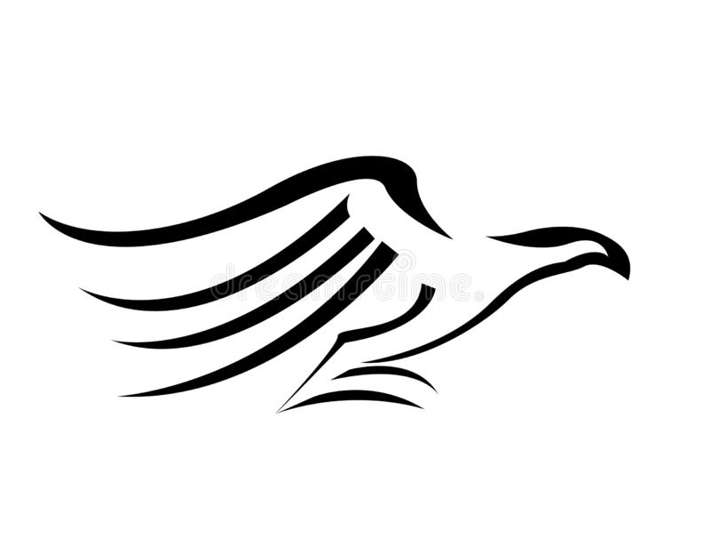 Illustration d'Eagle Logo Vector illustration libre de droits