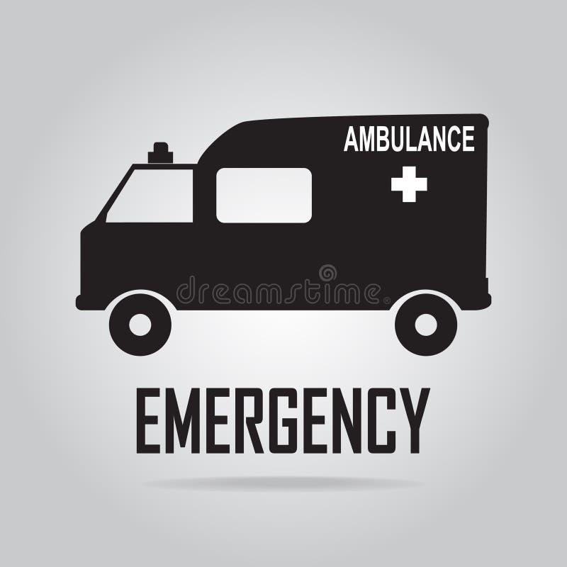 Illustration d'icône d'ambulance illustration libre de droits