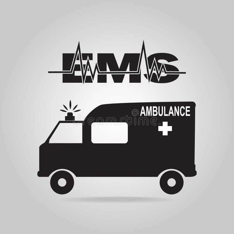 Illustration d'icône d'ambulance illustration de vecteur