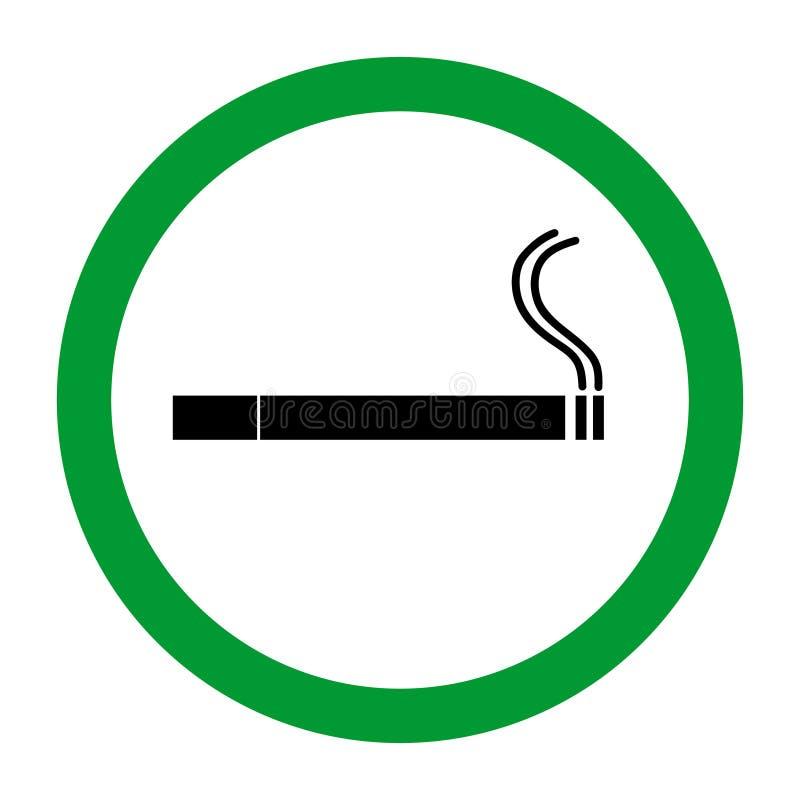 Illustration d'icône de région de fumée illustration de vecteur