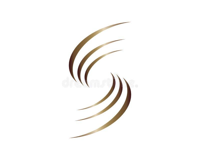 Illustration d'icône de vecteur de symbole de cheveux illustration libre de droits