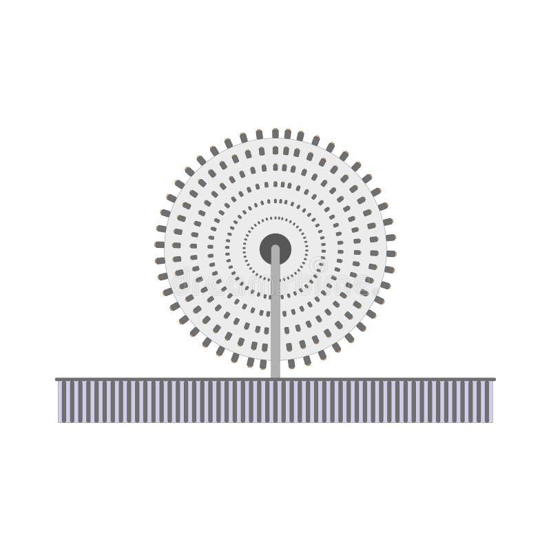 Illustration d'icône de fontaine Vecteur illustration libre de droits
