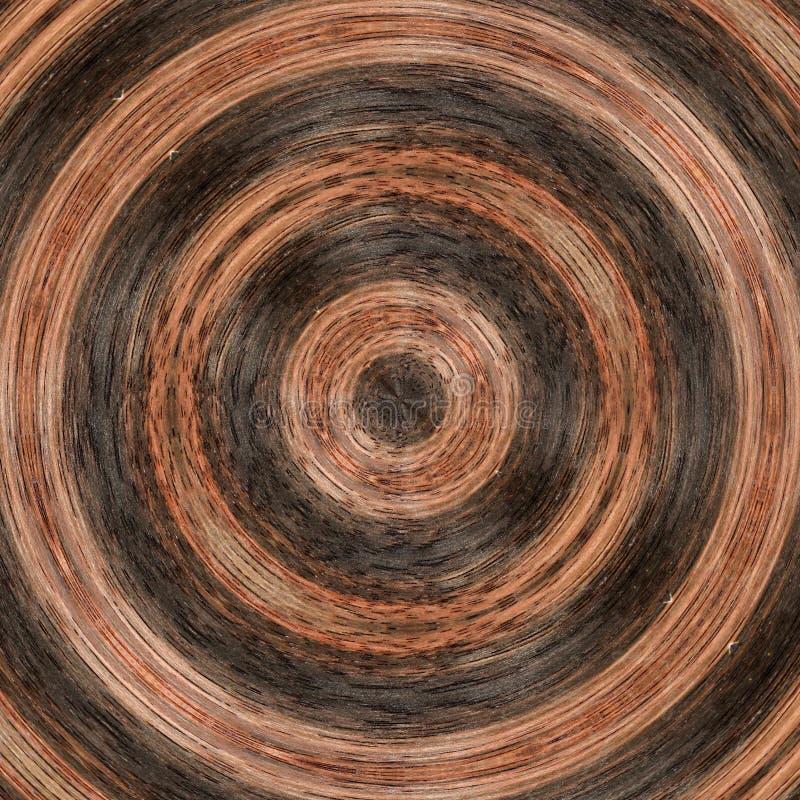 illustration 3D Image abstraite d'une surface en bois d'un arbre illustration libre de droits