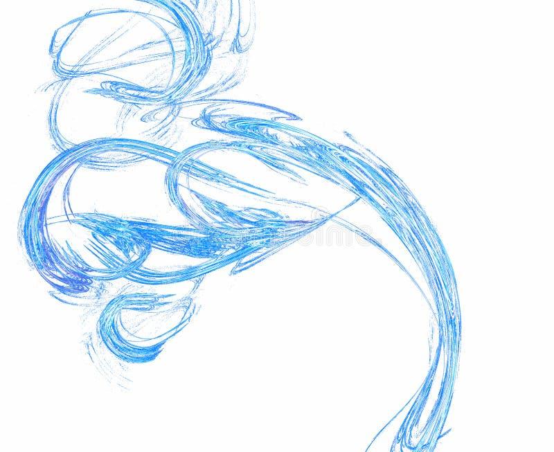 Illustration d'onde illustration stock