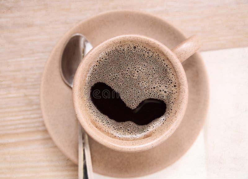 Illustration dans le style de peinture, café photographie stock