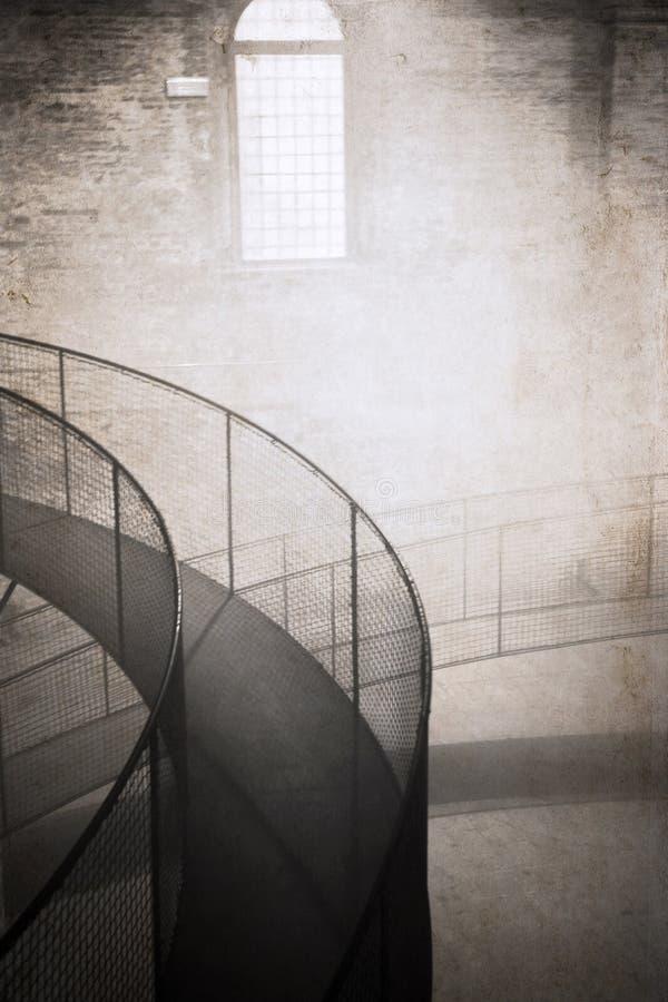 Illustration dans le style de vintage, brouillard photo stock