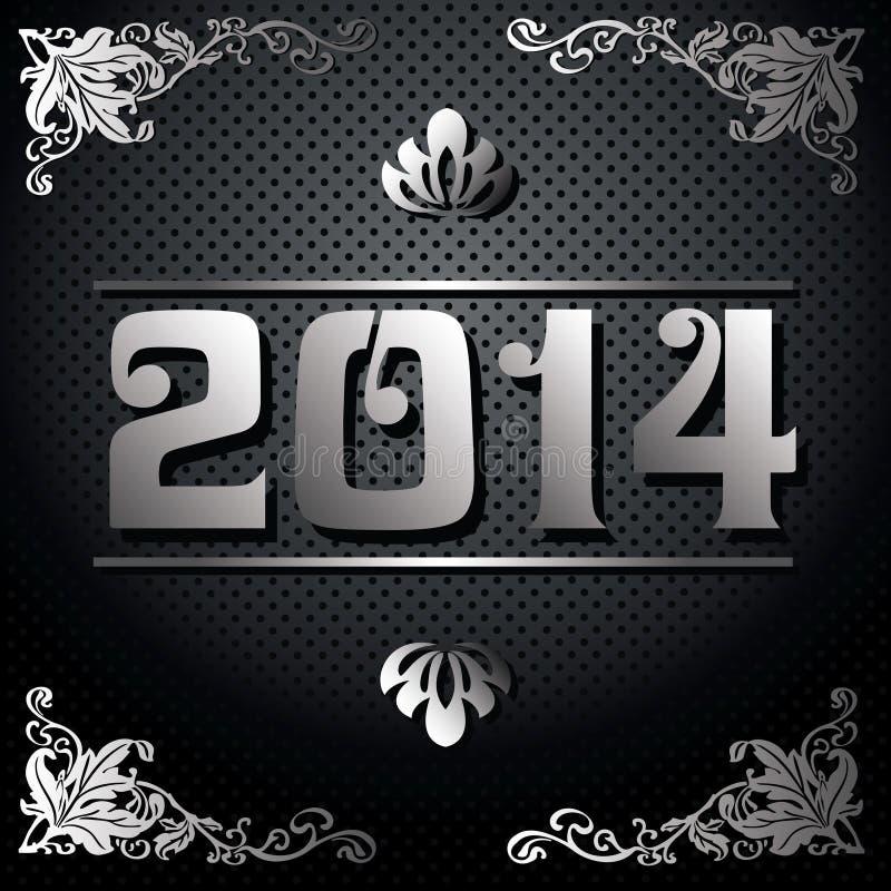 Illustration de 2014 ans illustration libre de droits
