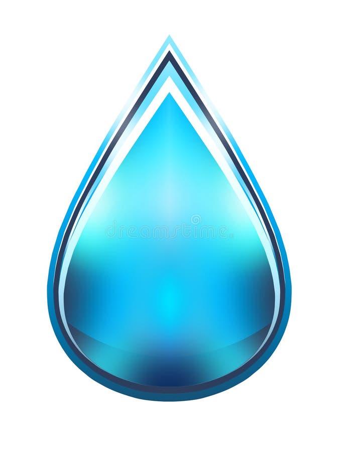 Illustration de baisse de l'eau photographie stock
