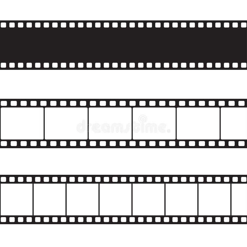 Illustration de bande de film de vecteur illustration stock