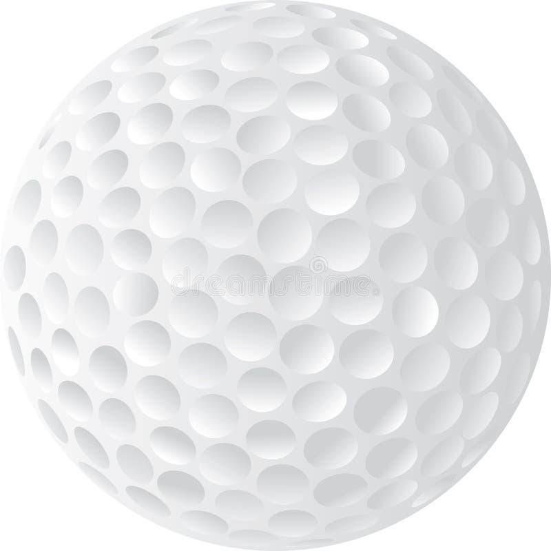 Illustration de bille de golf illustration stock