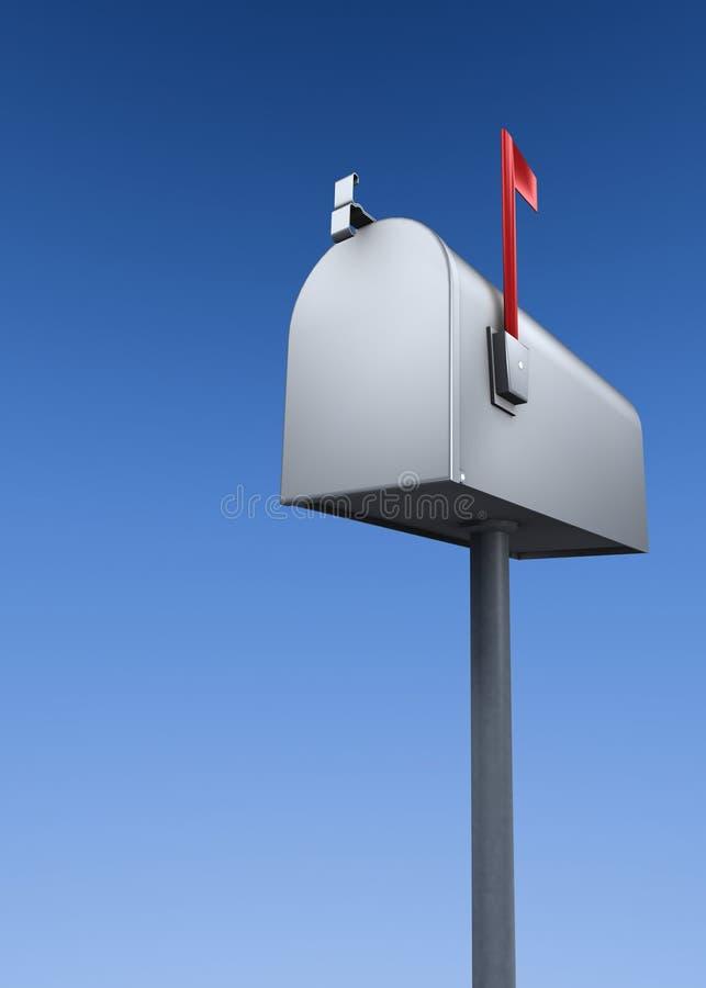 Illustration de boîte aux lettres illustration de vecteur