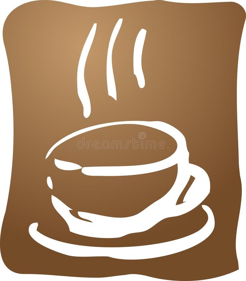 Illustration de café illustration libre de droits