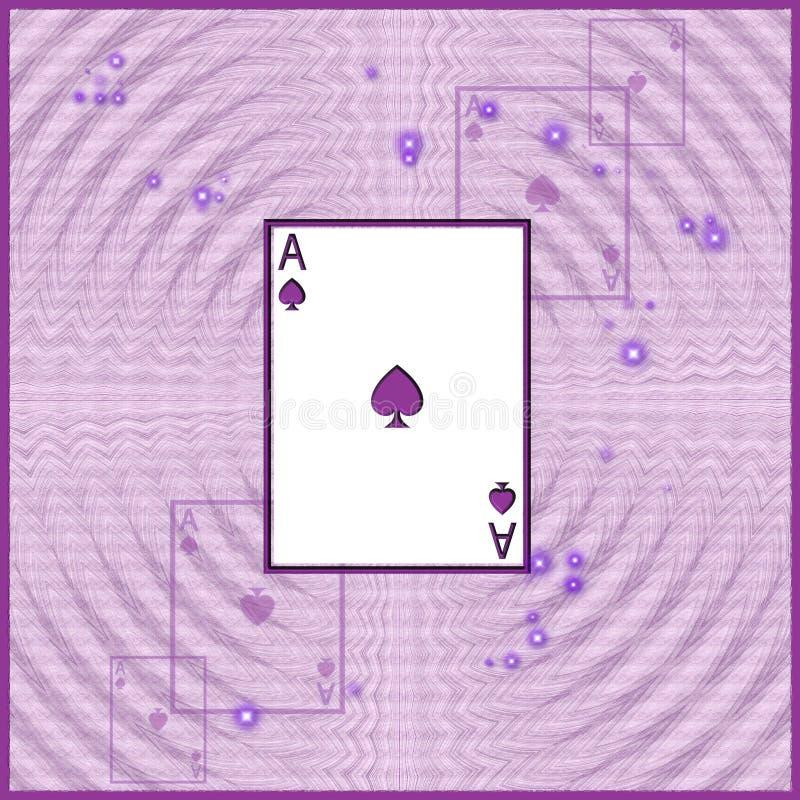 Illustration de carte de jeu illustration de vecteur