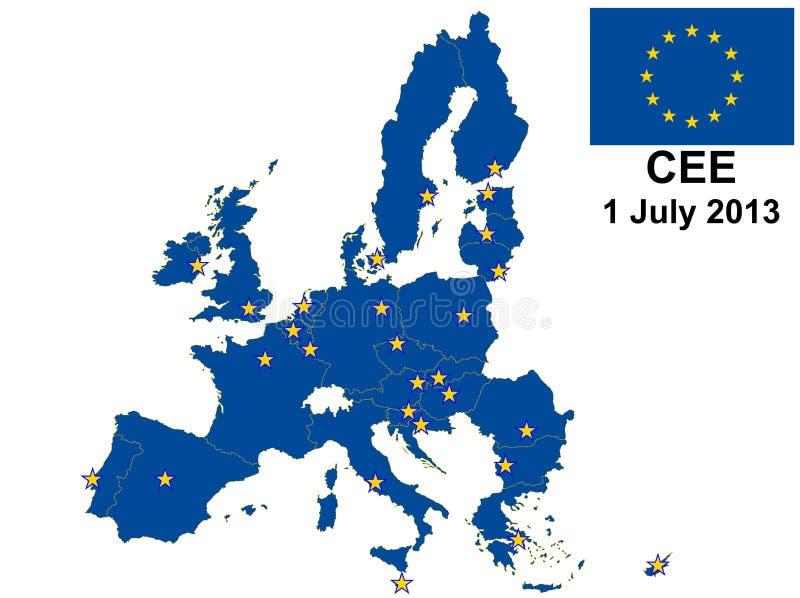 L'ECO tracent 2013 illustration libre de droits