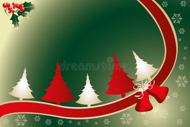 Illustration de carte de Noël illustration de vecteur