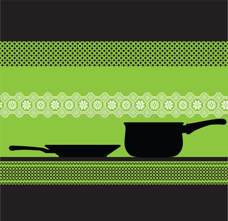 Illustration de carter de cuisine illustration stock