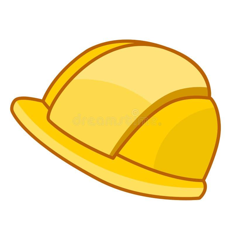 Illustration de chapeau de sécurité illustration libre de droits