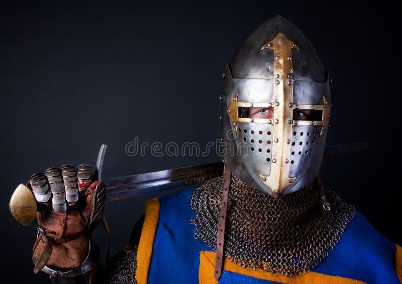 Illustration de chevalier courageux photos libres de droits