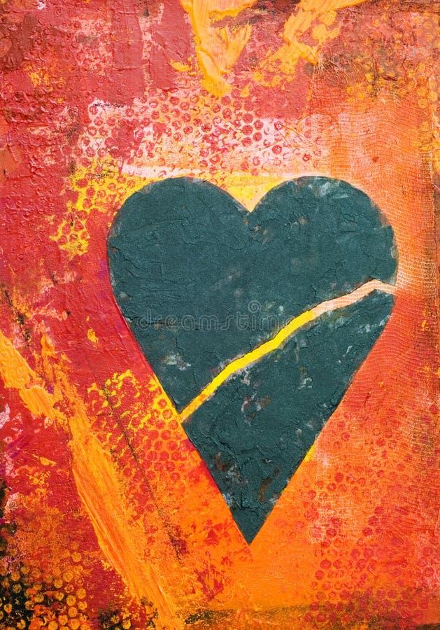 Illustration de coeur illustration libre de droits