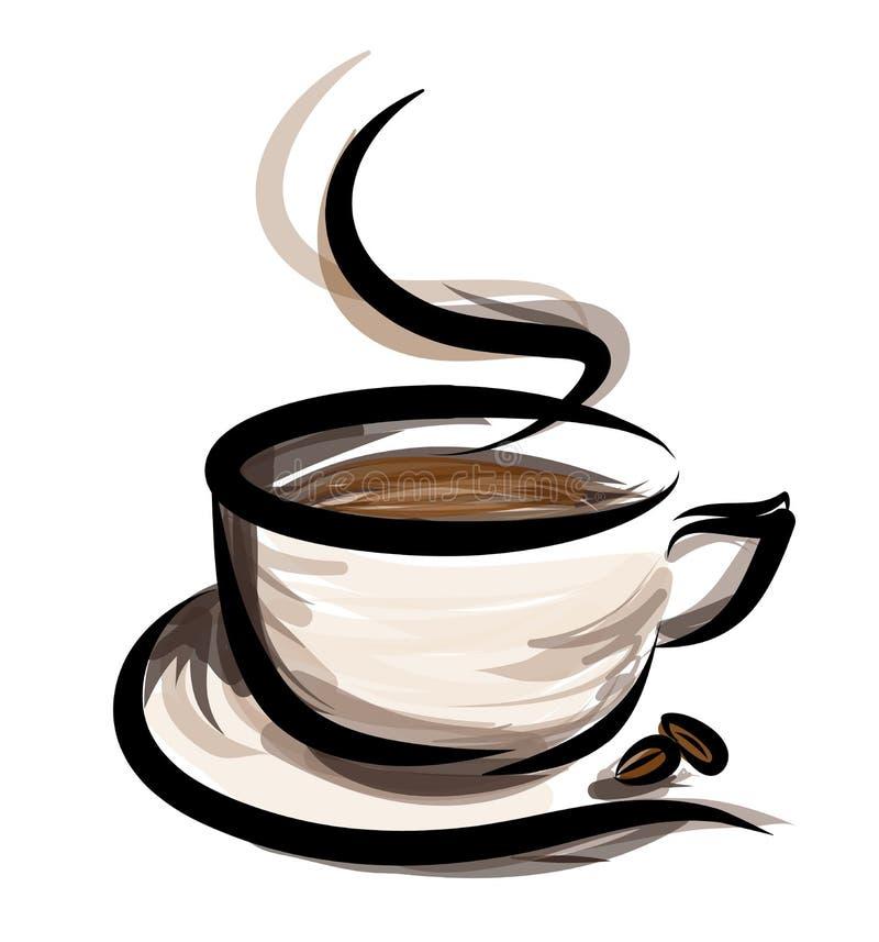 Illustration de Coffe illustration de vecteur