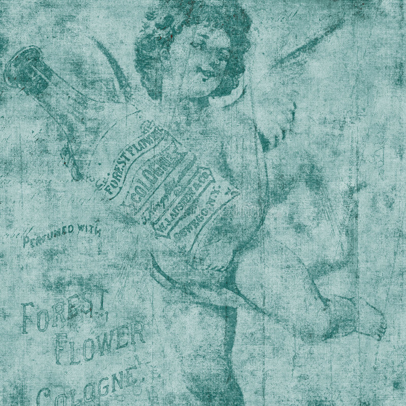 Illustration de cologne d'ange ou d'ange illustration libre de droits