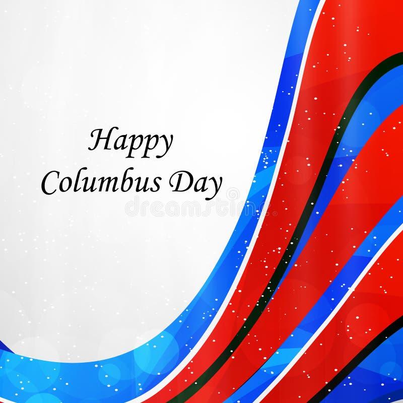 Illustration de Columbus Day Background illustration stock