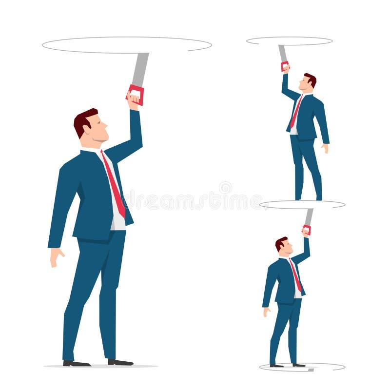 Illustration de concept d'affaires illustration de vecteur