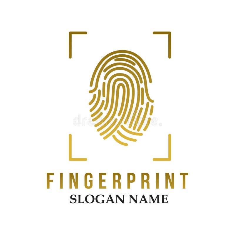 Illustration de conception d'illustration de degré de sécurité de doigt photographie stock
