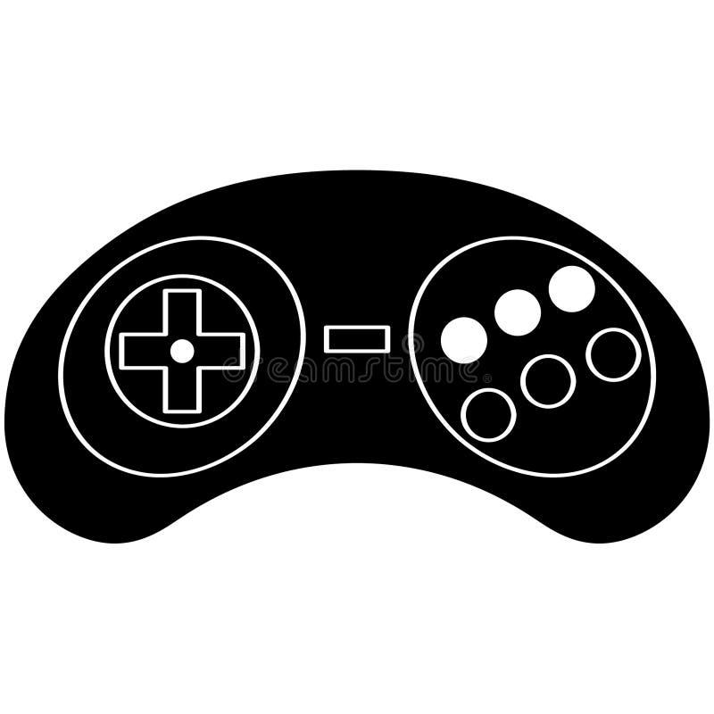 Illustration de contrôleurs de jeu vidéo par des crafteroks illustration libre de droits