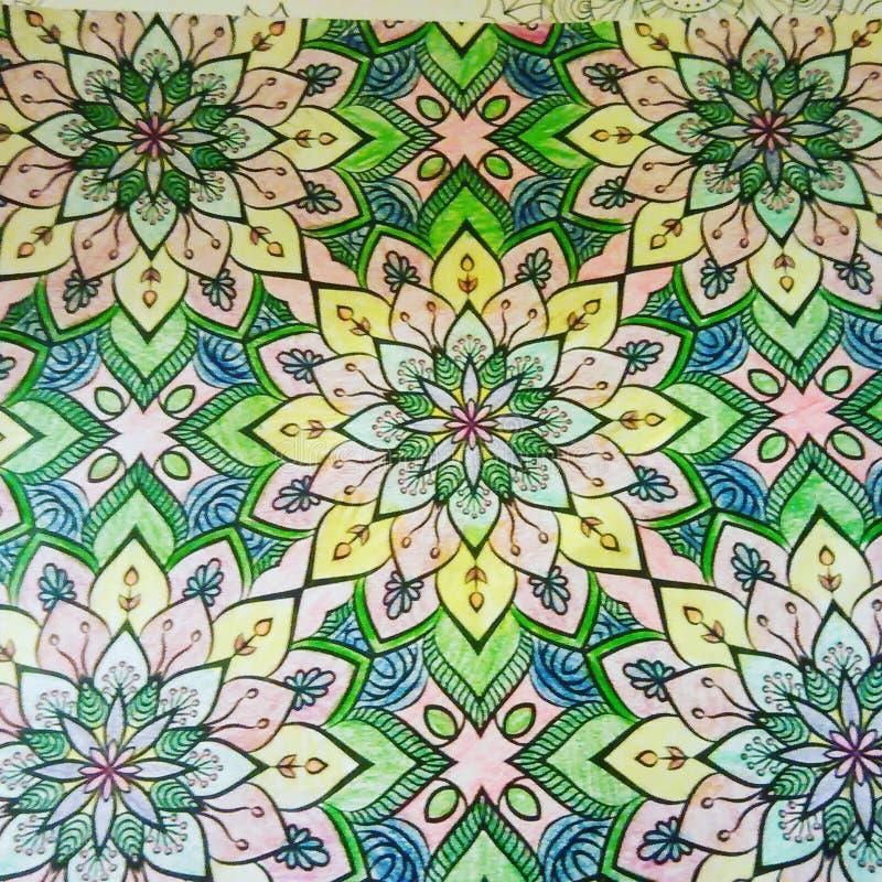 Illustration de couleur image stock