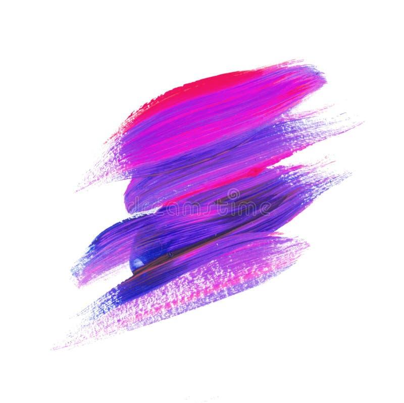 Illustration de couleur ultra-violette de course impétueuse photographie stock libre de droits