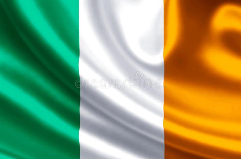 Illustration de drapeau de l'Irlande illustration stock