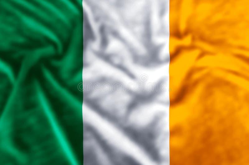 Illustration de drapeau de l'Irlande illustration libre de droits