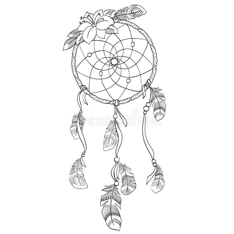 Illustration de Dreamcatcher illustration stock
