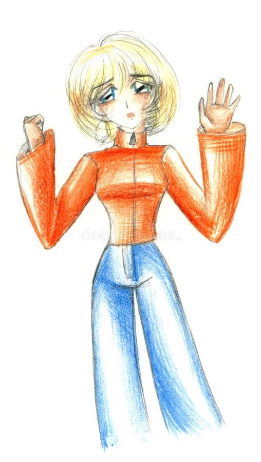 Download Illustration de femme illustration stock. Illustration du croquis - 8653136